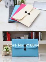 Pop Fashion Woolen Felt Laptop Sleeve Case Envelope Bag  For Macbook air 11.6/13.3 Pro 13.3/15.6, free shipping