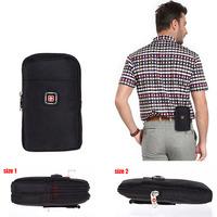 Men's Belt Bag 2015 New Canvas Oxford Bag Wear Belt Men Waist Sport Bags Men's Telephone Bags
