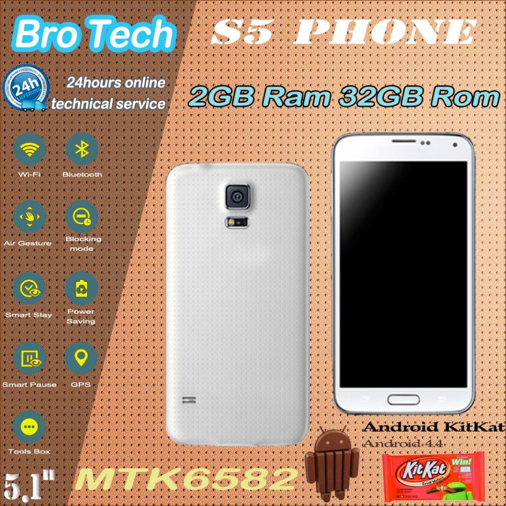 "Impronte digitali hdc sv s5 i9600 telefono 32gb rom 2gb ram mtk6582 mtk6592 octa core smart phone mobile 5.1"" 1920*1080 16MP impermeabile"