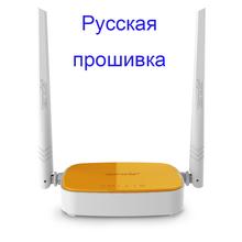 Firmware russo roteador sem fio 300Mbps Wi-Fi repetidor Tenda N304 4 portas de rede roteador 802.11b / g / n frete grátis(China (Mainland))