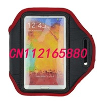 Waterproof armband Cover Case For Samsung Galaxy Note 2 II N7100 Note3 armband Case Cover,arm band Case Running case N7100 N9000