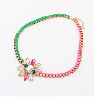 Chunky Necklaces For Women Men jewelry 2014 New Arrival Fashion Women Gift Gold Chain Necklaces & Pendants