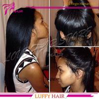 NEW ! Yaki straight silk base full lace wig virgin brazilian human hair glueless italian yaki silk top lace wigs with baby hair