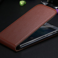 Promotion! Luxury Korean Genuine Leather Magnetic Chip Flip Case For Samsung Galaxy S4 Mini S3 III i9300 Drop Shipping AAA03474