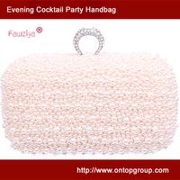 New Women's Beaded Cheap Clutch - Pearl Evening Bags - Wedding Party Handbag