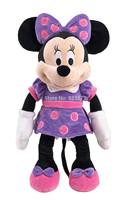 Original Minnie Mouse Toys 48cm 19inch Minnie Plush Toys Purple Stuffed Animals Mickey Minnie Pelucia Kids Toys for Children