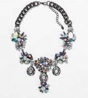 A2202 New  Z design fashion jewelry wholesale collar necklace & pendant chunky luxury bib choker statement necklace for women