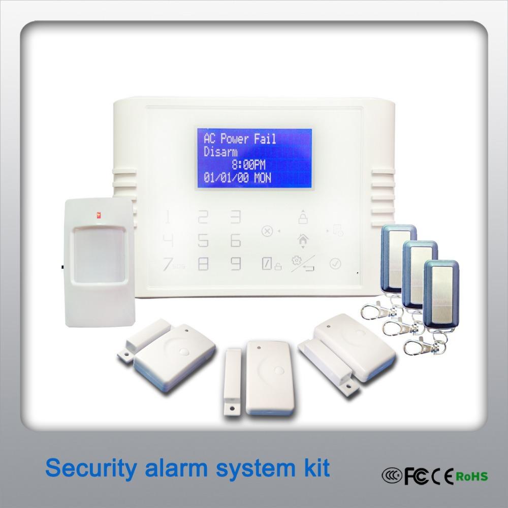 diy wireless home security burglar alarm system landline