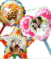 Free shipping,A4 size(diameter is 18cm),DIY beautiful magical paper balloon