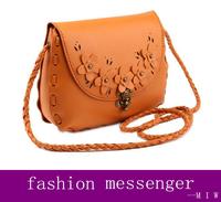 New Fashion Envelope Bag Retro Flowers Woven Rope Messenger Bags Shoulder Bag bolsas femininas crossbody bags for women freeship