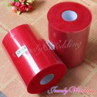 Dark Red Matt TULLE Roll Spool 6inch x 100yard (6inch x 200ft) Tutu Wedding Gift Party Bow