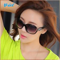 2014 New Summer Sunglasses Joint Multi-Coloured Eyewear Women's Outdoor Sunglasse Uv400 Fashion Okuliare Wholesale
