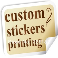 Good quality custom stickers printing