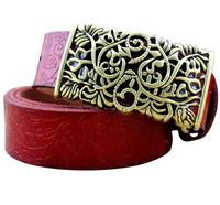 Split leather belts Women belts Cintos cinturon fashion New Arrival 2015 N78  vintage carved belts Free Shipping genuine leather