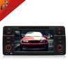 2din 800 MHz CPU Car DVD Automotivo Player For Bmw e46 With AM FM Radio+ GPS Navitel+Audio+BT+Tape Recorder+Map, steering wheel