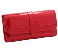 New arrive genuine leather wallet candy color long design purse women change purse