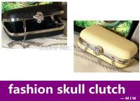 Women handbag 2014 serpentine skull clutch evening bag cross-body small mobilephone casual bag handbags designers brand