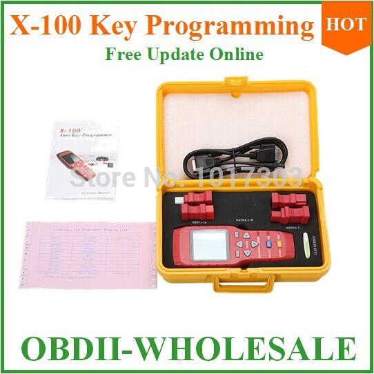 Nova x100 chave programador lê as chaves de memória x 100 programador chave do imobilizador para o mercado(China (Mainland))