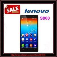 "Original Lenovo S860 WCDMA Phone 4000mAh battery Quad Core MTK6582 1.3GHz 5.3"" IPS 720P Android 4.2 1GB 16GB 8.0MP Camera OTG"