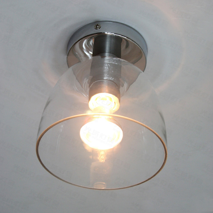 Keuken Plafondlampen : Small Glass Ceiling Light Fixture