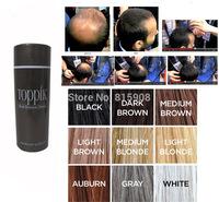 Women Hair Loss Thinning Conceal Men Refill Toppik Hair Fibers 25g Keratin Building Restore Care Spray Powder Styling 10colors