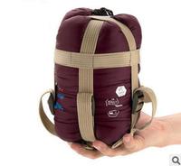 Free Shipping 1pcs Mini Outdoor Envelope Sleeping Bag Ultra-light Camping Hiking Outdoor Sports Sleeping Bag 1.9*0.75m cx690029