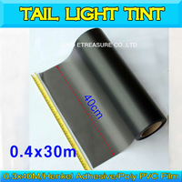 Frosted Smoke Headlight Tint Taillight Film Color Changing Vinyl Wrap 0.4mX30m