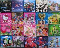Free Shipping  10Pcs/lot  Mix winx  spiderman Kids Cartoon Watches Hello Kitty , ,ben10  Watch