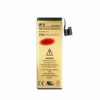 3.7V 2680mAh High Capacity Top Quality Gold Battery Mobile Phone Replacement Li-ion Battery For iPhone 5