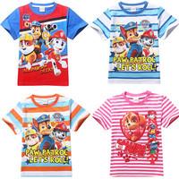 Love Papa Mama Baby full T-shirt girls boys children Clothes for summer 2014 Kids Boys  girls t shirt chlidren's clothing