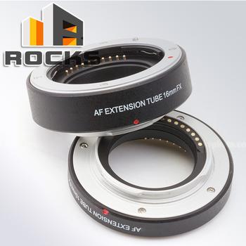 Autofocus AF confirm Macro extension tube work for Fuji FX X-Pro1 X-E1 X-E2 X-M1 ...