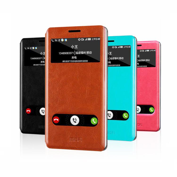 Original Flip Open Window PU Leather Hard Phone Cases for Lenovo K910 VIBE Z Mobile Phones Case Smartphone Cover Celular Bag(China (Mainland))
