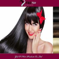 Jet Dark 1 Bundle/Lot Clip In on Straight Human Hair Extension 100% Brazilian Virgin Hair 14 16 18 20 22 24 26 Inches