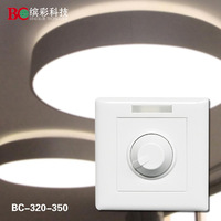 LED Dimmer wall mounted LED Dimmer  DC12-48V with with10 key IR remote 700mA LED Dimmer