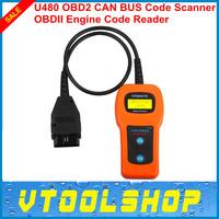 2014 Top-Rated U480 OBD2 CAN BUS&Engine Code Reader Free Shipping  Superior U480 Code Reader Scanner for VW,AV-D1 U480 Scanner
