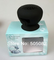 Mushroom Mini Wireless Bluetooth 3.0 Speaker Waterproof Silicone Sucker Hands Free Speakers For Phone PC Computer Player