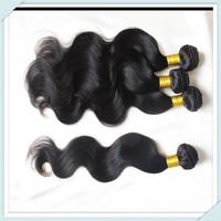 Muse Hair:6A Brazilian Virgin Cheap Human Hair queen love hair products Body Wave mixed 4pcs 2pcs 1pc 100g/pc free shipping