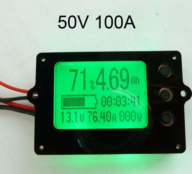Вольтметр 50V 100 LiFePO4 LiPo TF01N  вольтметр 50v 50a lifepo4 lipo tf01n