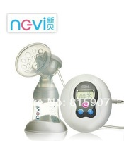 New package!! XB-8615 PP Electric breast pump BPA free material milk pump/FDA PP material/Easy to assemble/silent motor