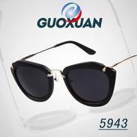Free Shipping 1pcs 2014 New Fashion Sun Glasses For Women gafas female oculos de sol Feminino Retro Designer Cat Eye Sunglasses