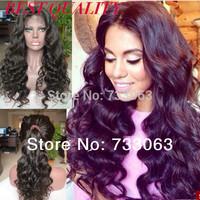 WHOLESALE! 100%Virgin Hair 180 Heavy Density Body Wave Lace Front  Human Hair Wigs For Black Women Glueless Brazilian Wigs Cheap