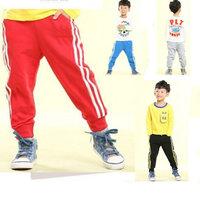 New 2014 brand pants fantasia infantilautumn children pants school trousers for child 5 pcs/lot free shipping 4 colors