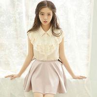 2014 Summer New Tall Waist Skirt Sweet Fair Maiden Skirt Multicolour W43031