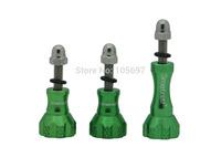 Smatree Aluminum Thumb Screw Set Mount for GoPro HD Hero 2 Hero 3 Hero 3+ Cameras and Gopro Tripod Mount (green)