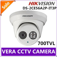 Wholesale Hikvision DS-2CE56A2P-IT3P Video Camera CCTV 700TVL Dome Camers IR Free Shipping