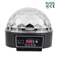 30W RGB LED DMX 512 Stage Lights Crystal Magic Ball Lighting Effect Light For Bar, Party, Nightclub, Disco