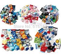12pairs/lot mix lovely soft cartoon  anchor baby kid sock slip-resistant children boy girl socks free shipping