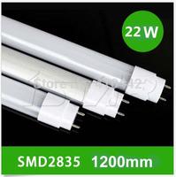 Free shipping NEW ENCONOMIC LED TUBE 36pcs/lot 18W 1200MM T8 LED Tube Light SMD2835 25LM/PC 96led/PC 2000-2200LM AC85-265V
