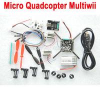 2pcs/lot 5pcs/lot Micro Quadcopter Multiwii Atmega328p+MPU6050   ARF   MWC Flight Controller Multicopter+Motor Prop Battery