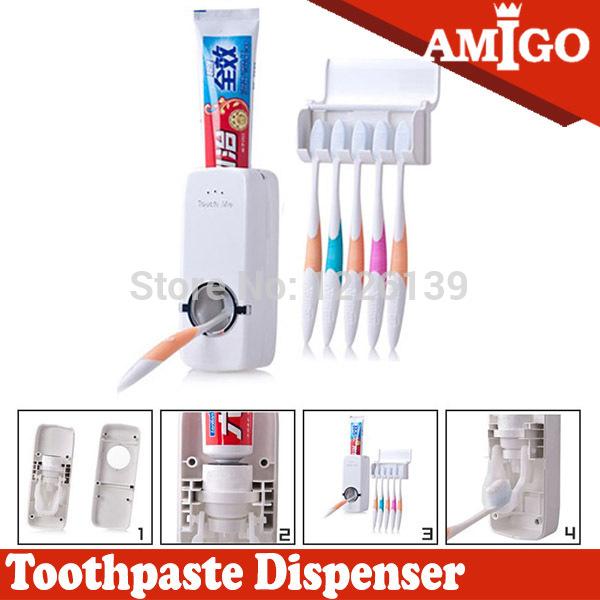 Автоматическая зубная паста распределитель креативный дизайн